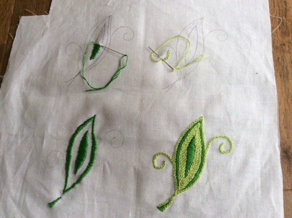 Learn hand embroidery