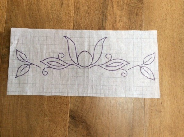 Design for hand embroidery