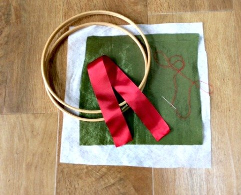 Embroidery materials from Minerva crafts