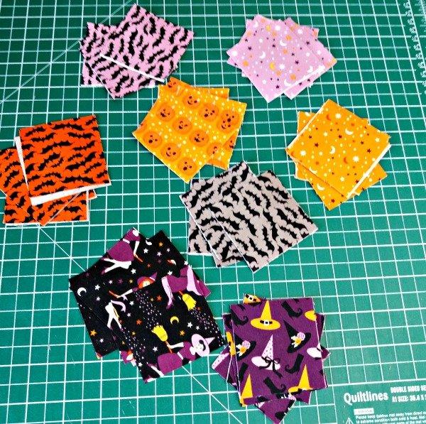 Mini charm square projects