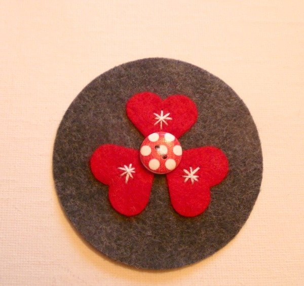 Hand sewn Christmas ornaments