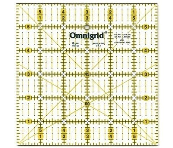 Omnigrid patchwork rulers
