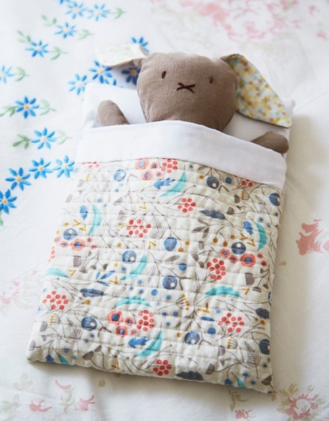 Soft toy bunny sewing tutorial for beginners