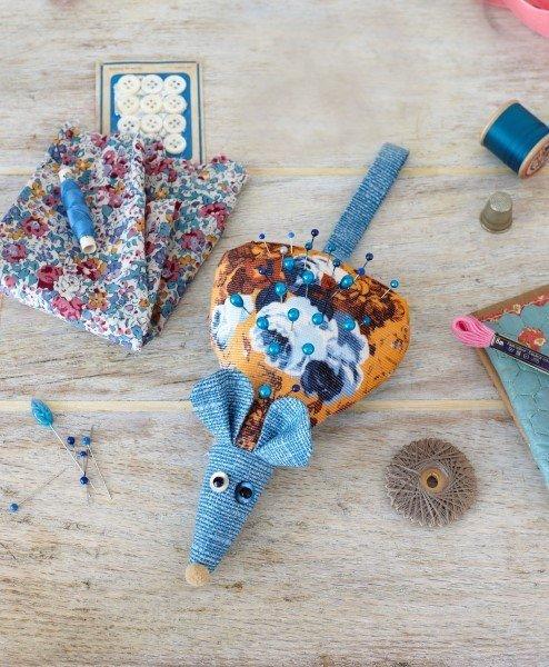Cute pincushion project