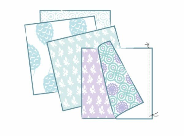 How to sew a fabric box