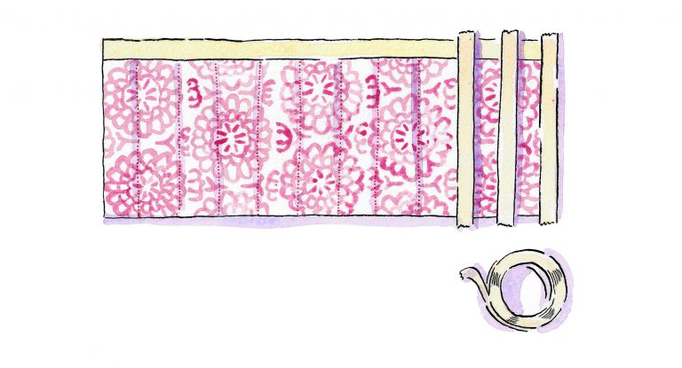 Marking lines for quilting