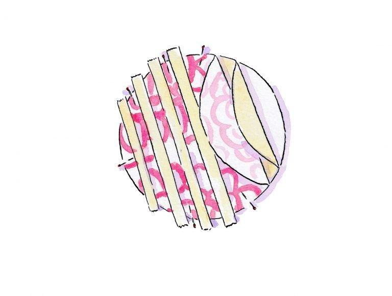 Circular bag base