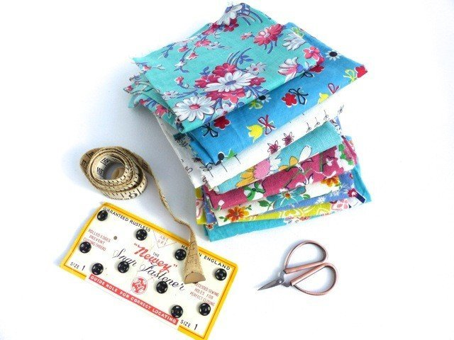 Buying and storing vintage fabric