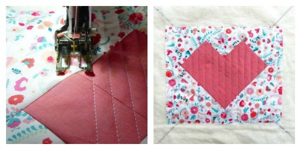 Quilt as you go technique guide