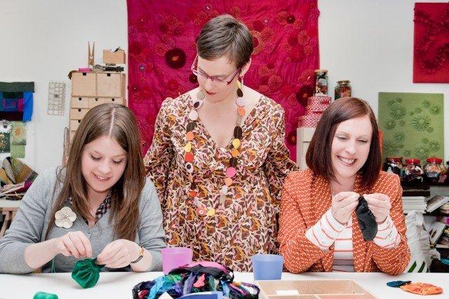 Textile art workshops with Ruth Singer