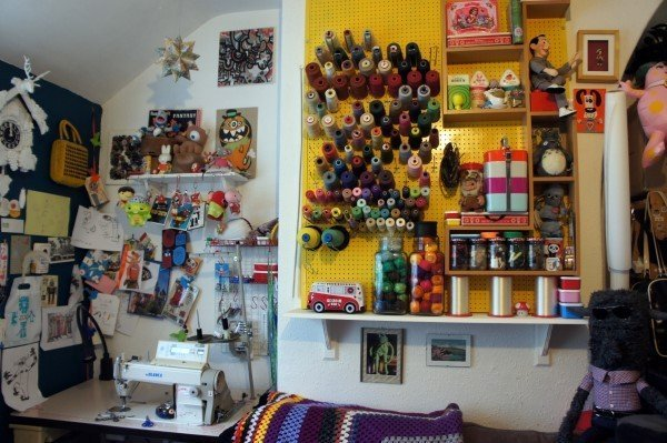 Tips for organising your sewing studio