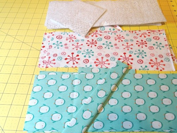 Sew with Christmas fabrics