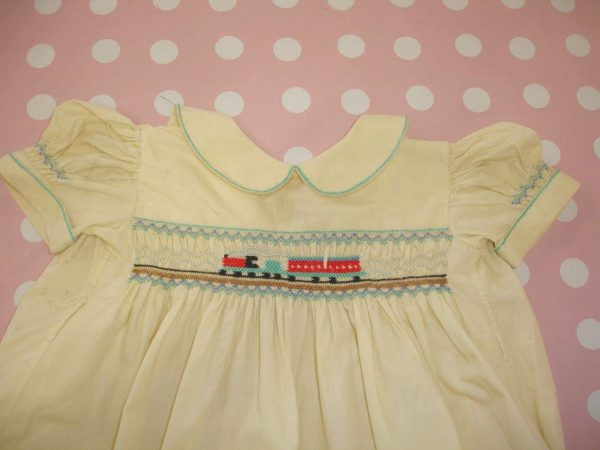 Traditional smocking techniques