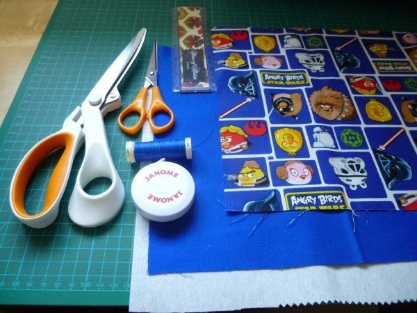 Sew a fabric basket