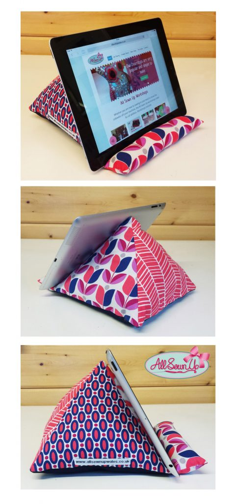 How to sew a fabric stand for your ipad or tablet