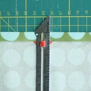 Use a sewing guage