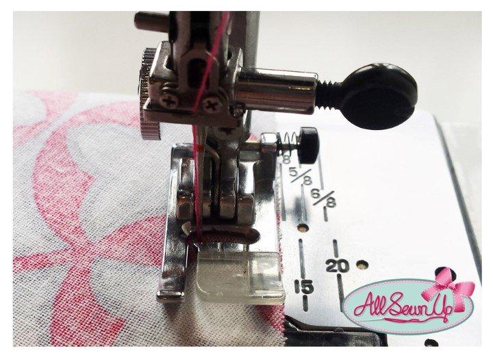 Stitching a seam