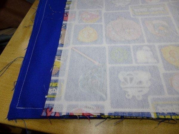 Make a fabric storage basket