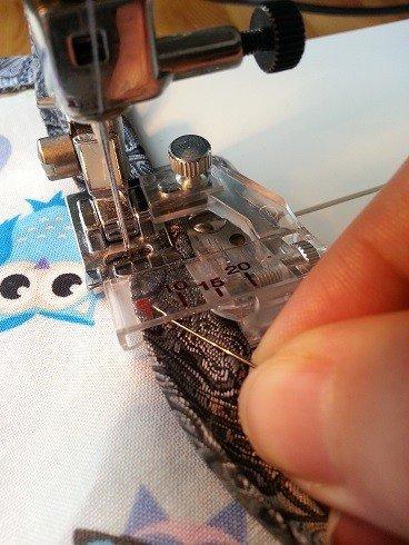 PRoblem shooting sewing with bias binding