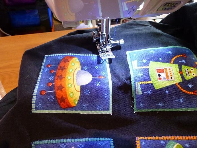 How to sew applique with a sewing machine