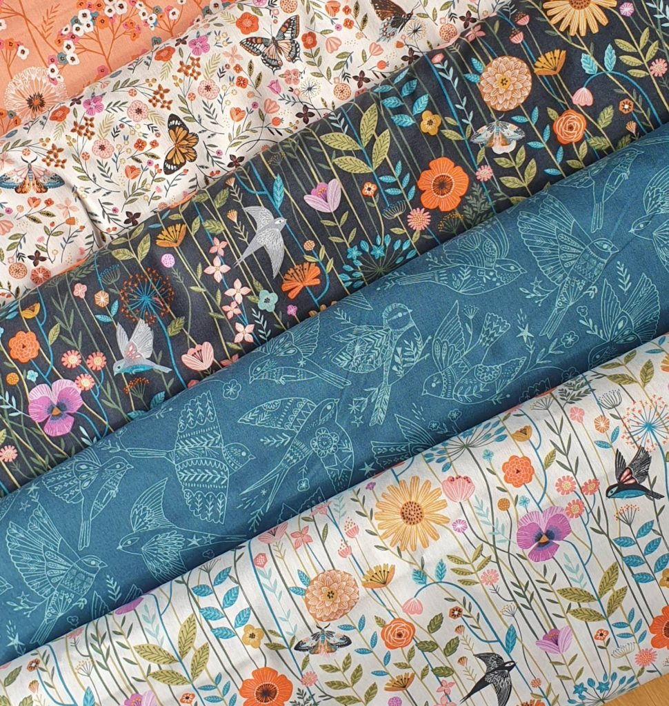 Craft fabrics from Bobbins n Buttons