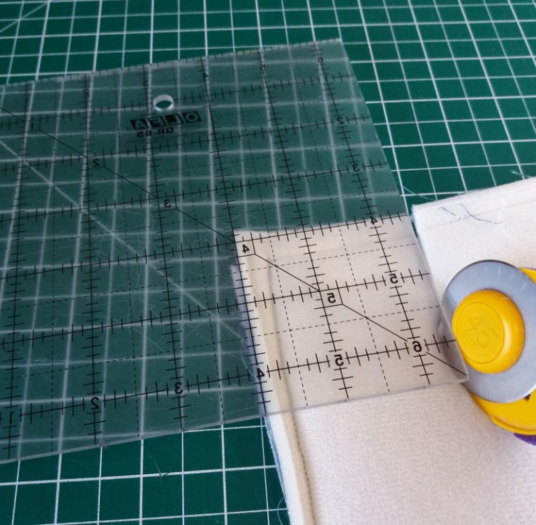 How to box corners on a bag project