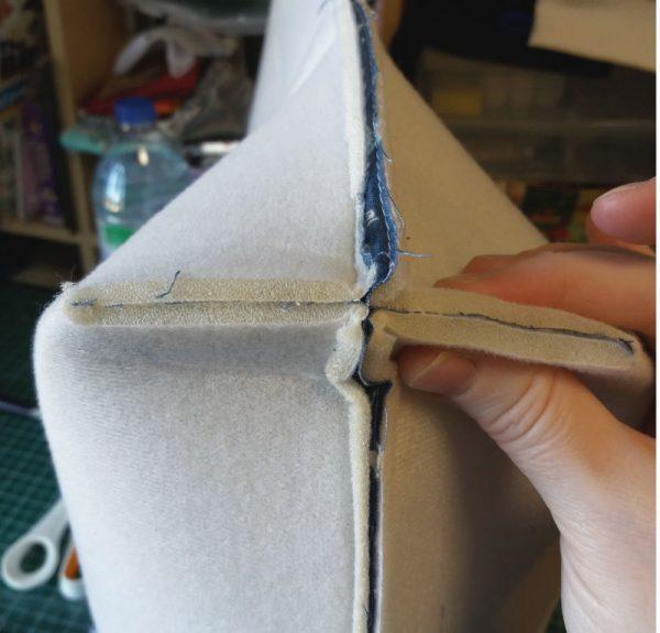 How to box bag corners