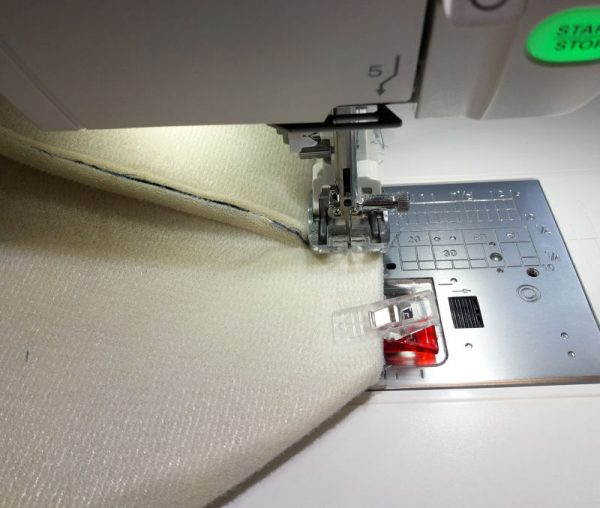 Sewing a large tote bag