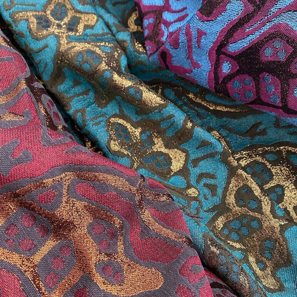 Ex-designer dressmaking fabrics