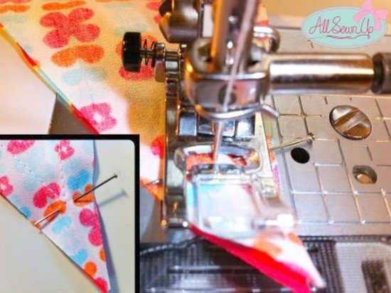 Learn to sew bunting