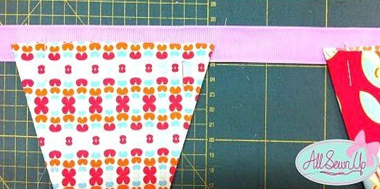 Free bunting template
