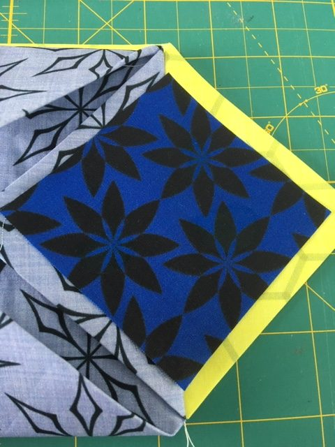 How to sew cathedral windows