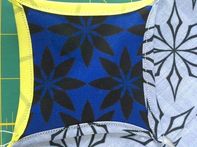 Sewing patchwork blocks