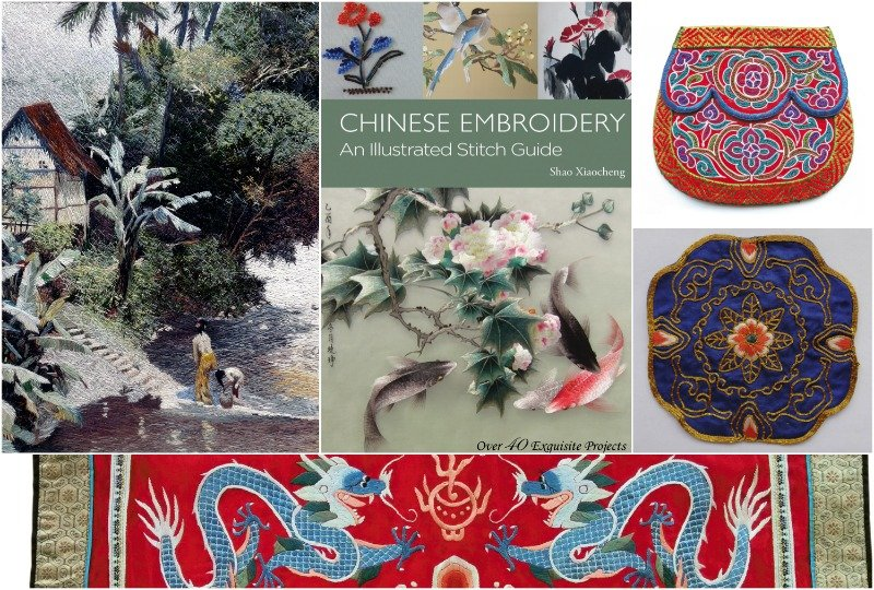 Chinese embroidery designs