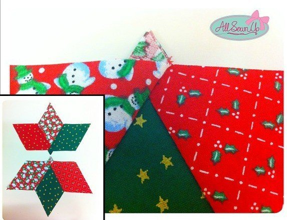 How to sew a fabric star