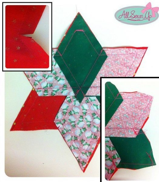Beginner's Christmas sewing projects