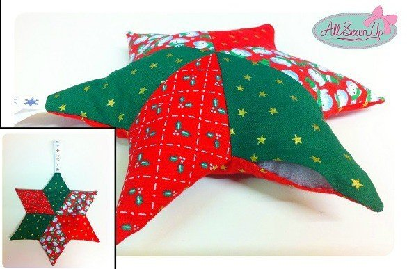 Easy patchwork project for beginners