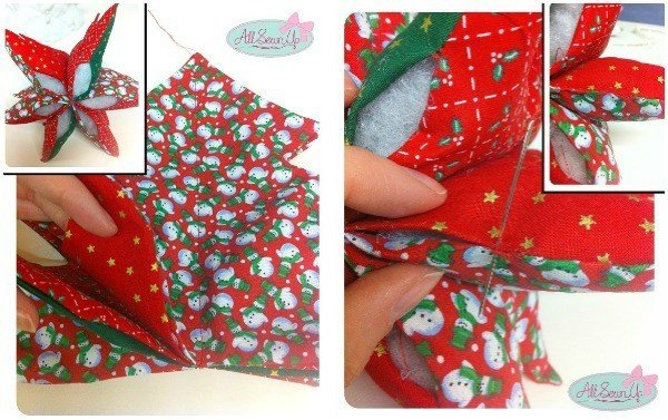 How to make a stuffed fabric Christmas tree