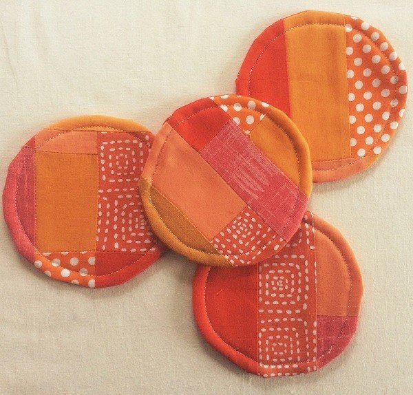 Sew some coasters