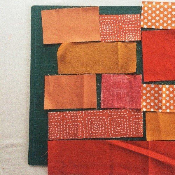 How to do crazy patchwork