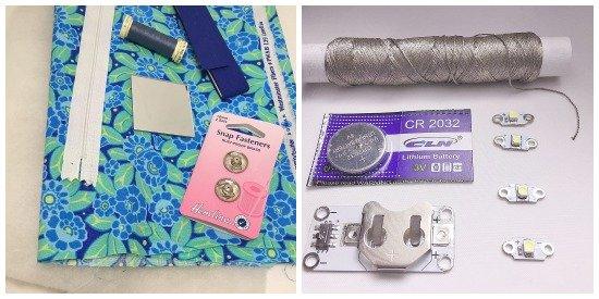 E-textile materials