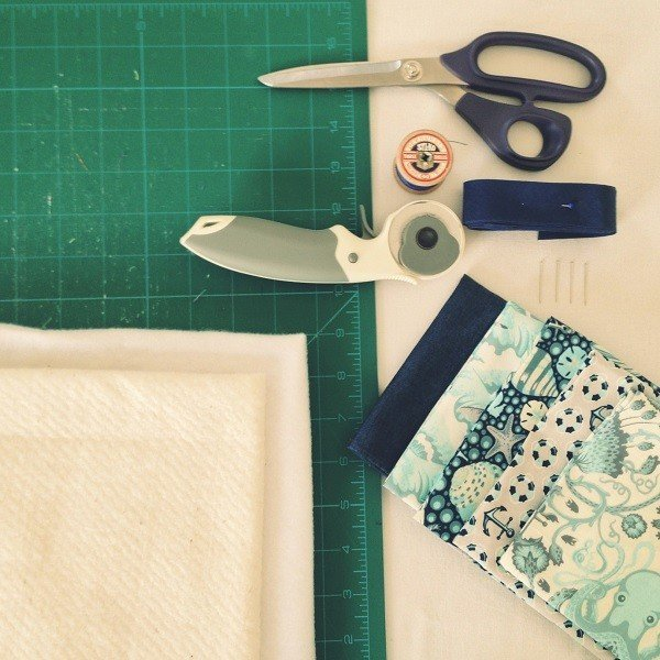 Sewing projects using Tula Pink Salt Water collection