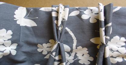 Pleated curtains skills