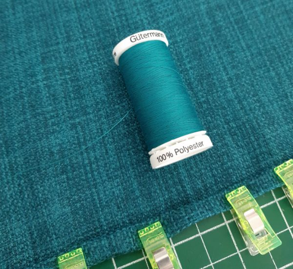 How to sew a double fold hem