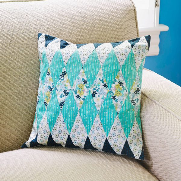 How to hand patchwork diamonds