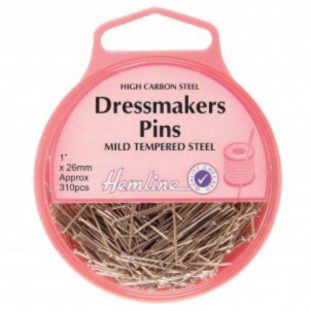 High carbon dressmaker's pins