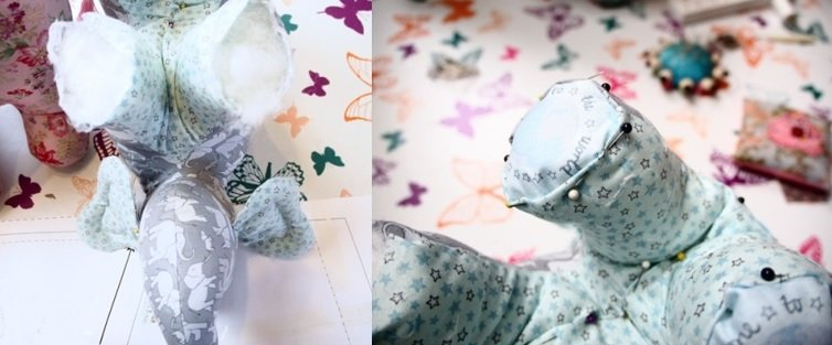 Learn to sew soft toys