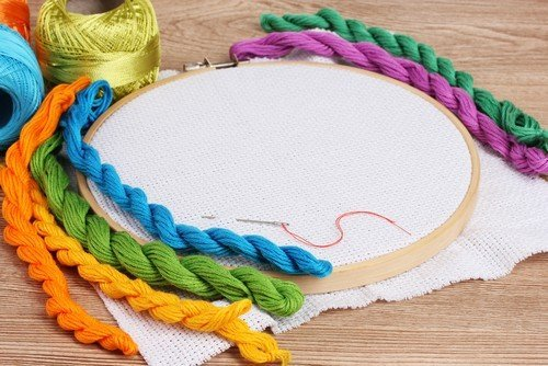what supplies do I need for hand embroidery