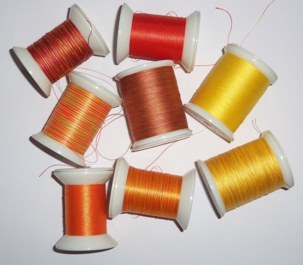 Choice of threads for free motion quilting