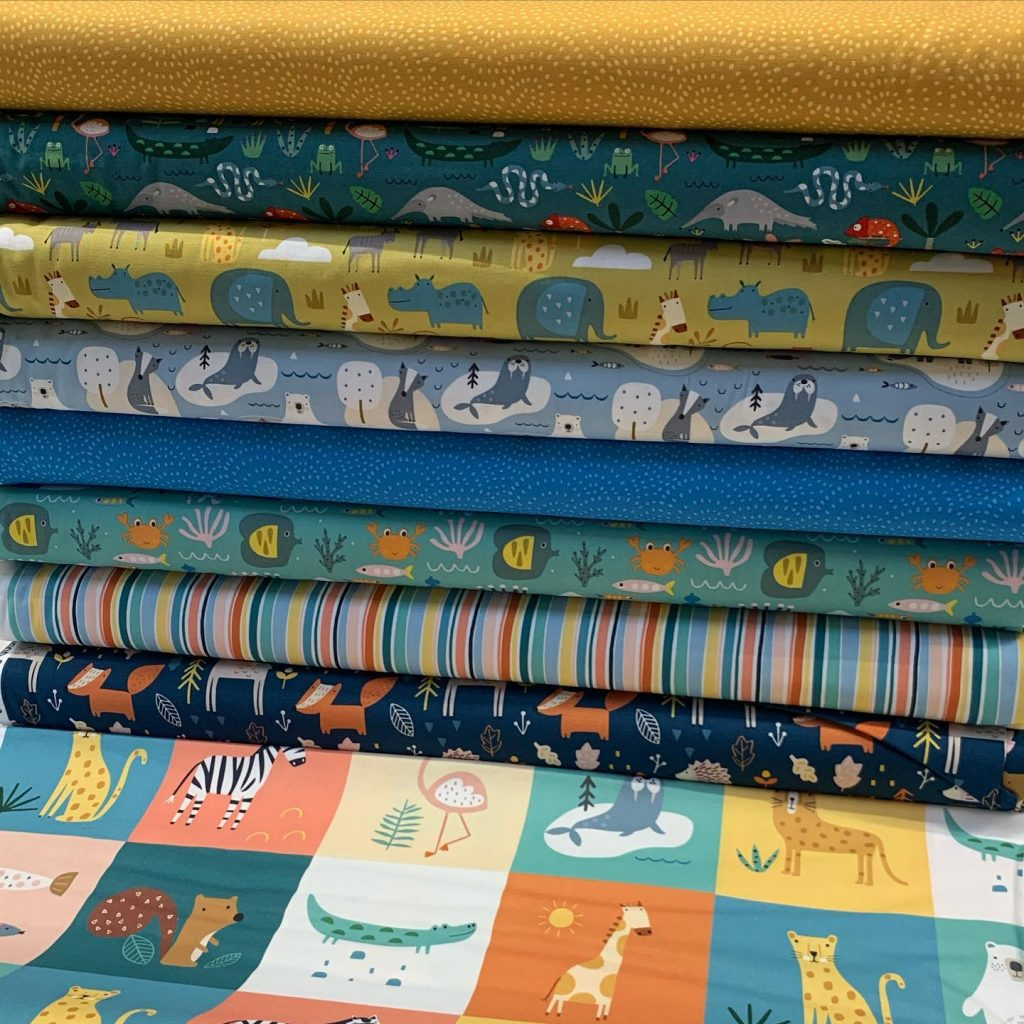 Fabrics to use when sewing for children